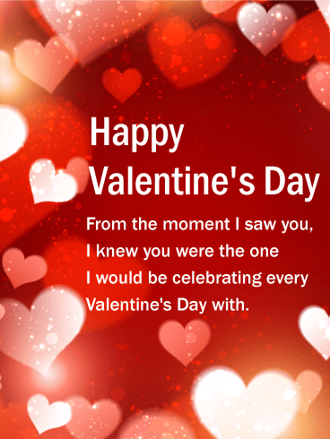 You Are The One Happy Valentine S Day Card Birthday Greeting Cards By Davia Cute Valentines Day Cards Happy Valentines Day Card Happy Valentines Day Photos