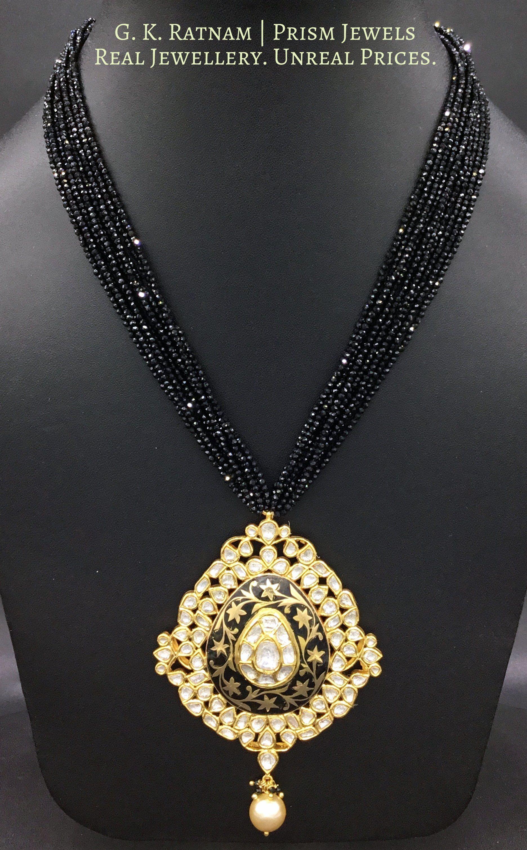 Pendant set uncut diamond pendant set and indian bridal