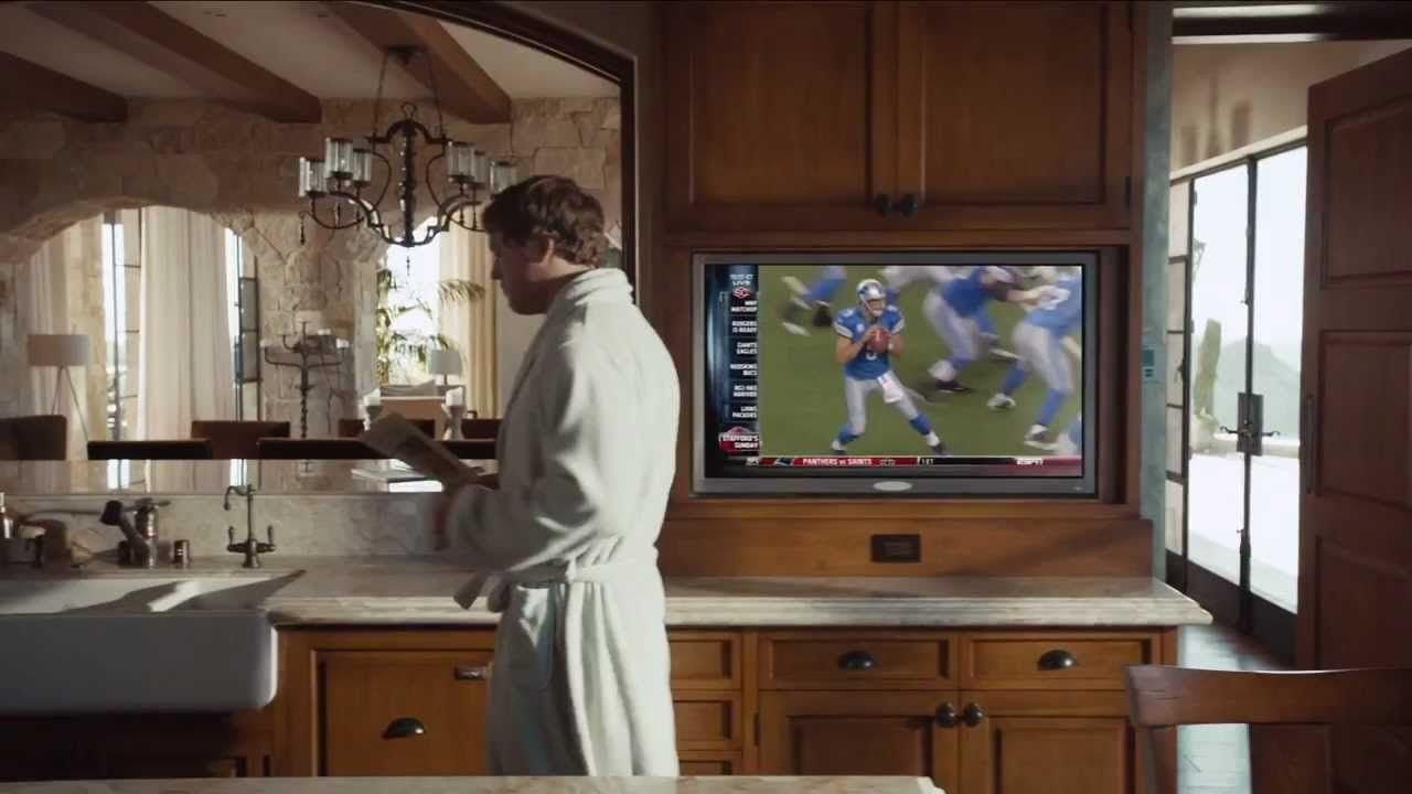 Matthew Stafford In Espn Monday Night Football Commercial Player