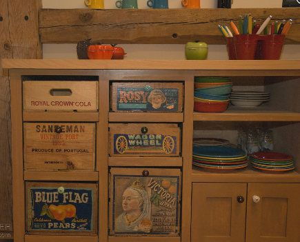Salvage Kitchen Cabinets Vintage