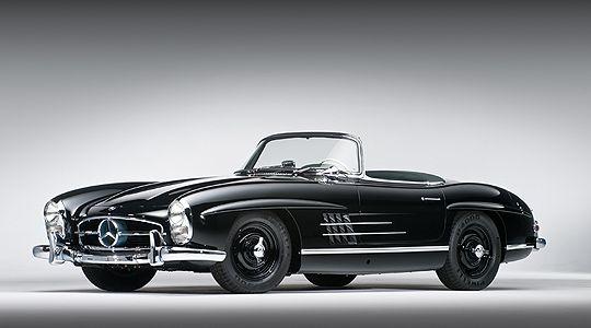 300 Sl Black Mercedes Benz Mercedes Benz 300 Roadster Car