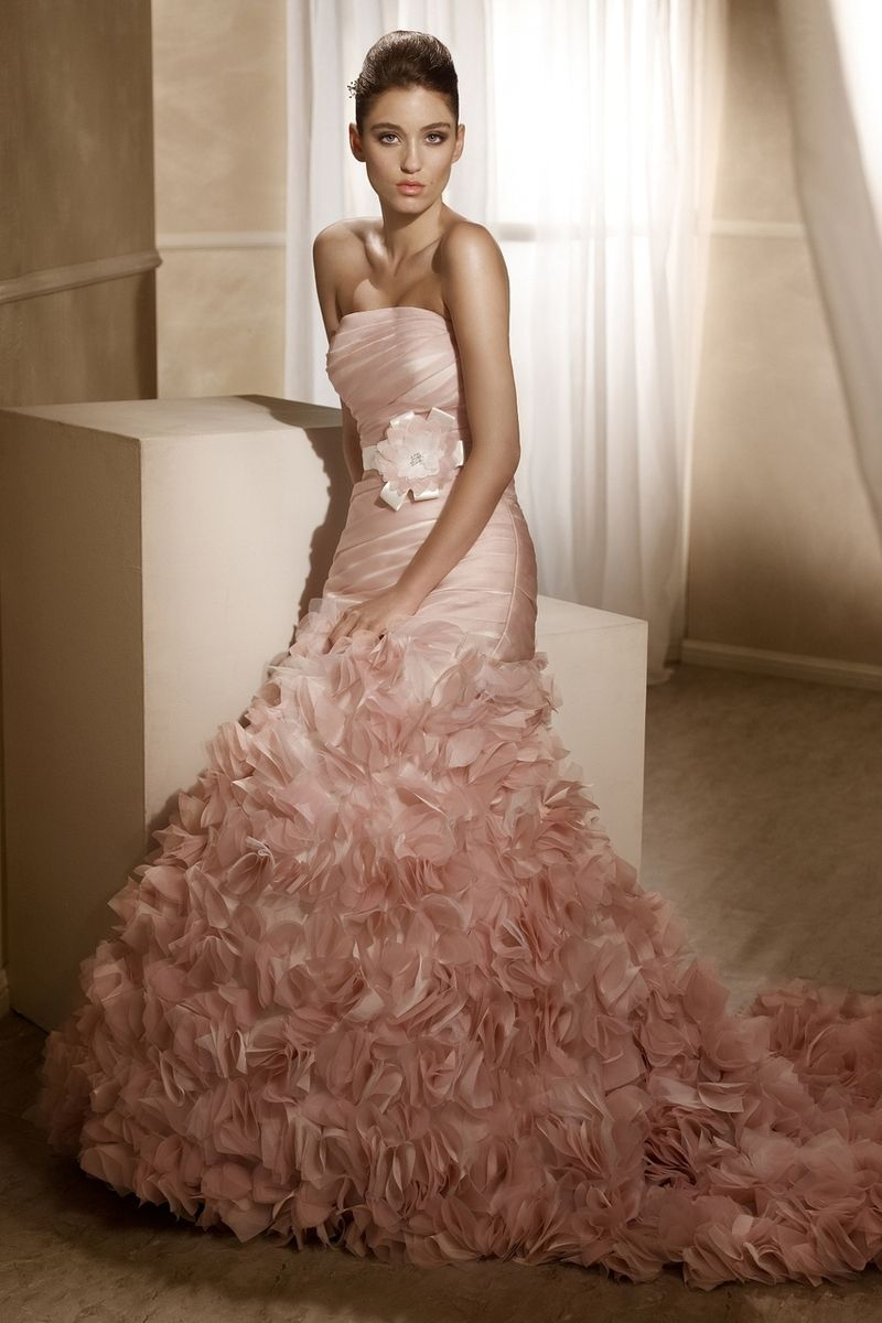Mia solano organza aline wedding dress ml miasolano