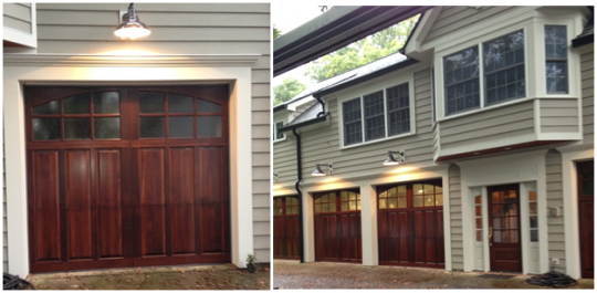 Custom Wood Garage Doors In Mt Vernon Ohio By The Hamilton Parker Company