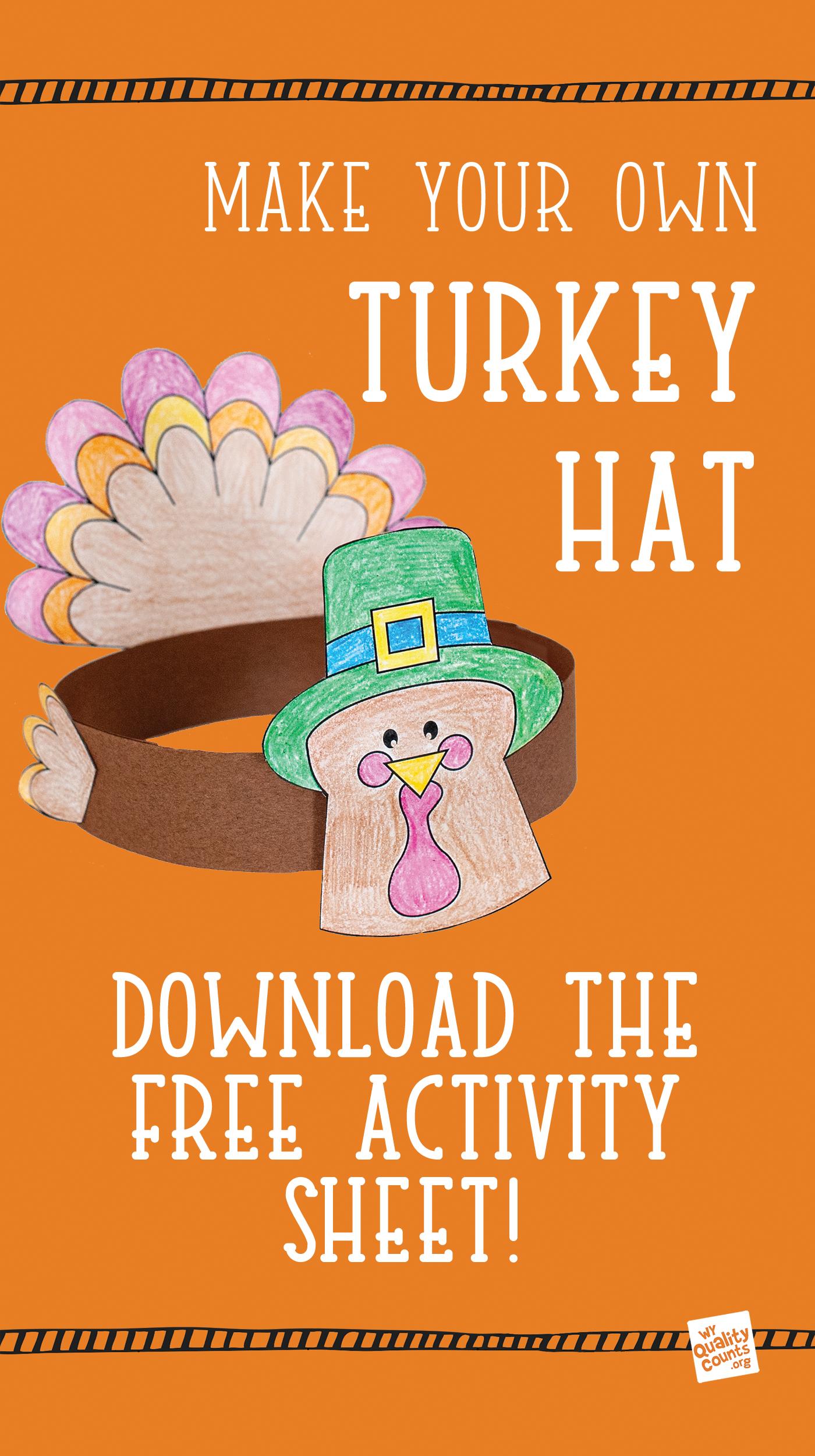 Fall Craft Turkey Hat