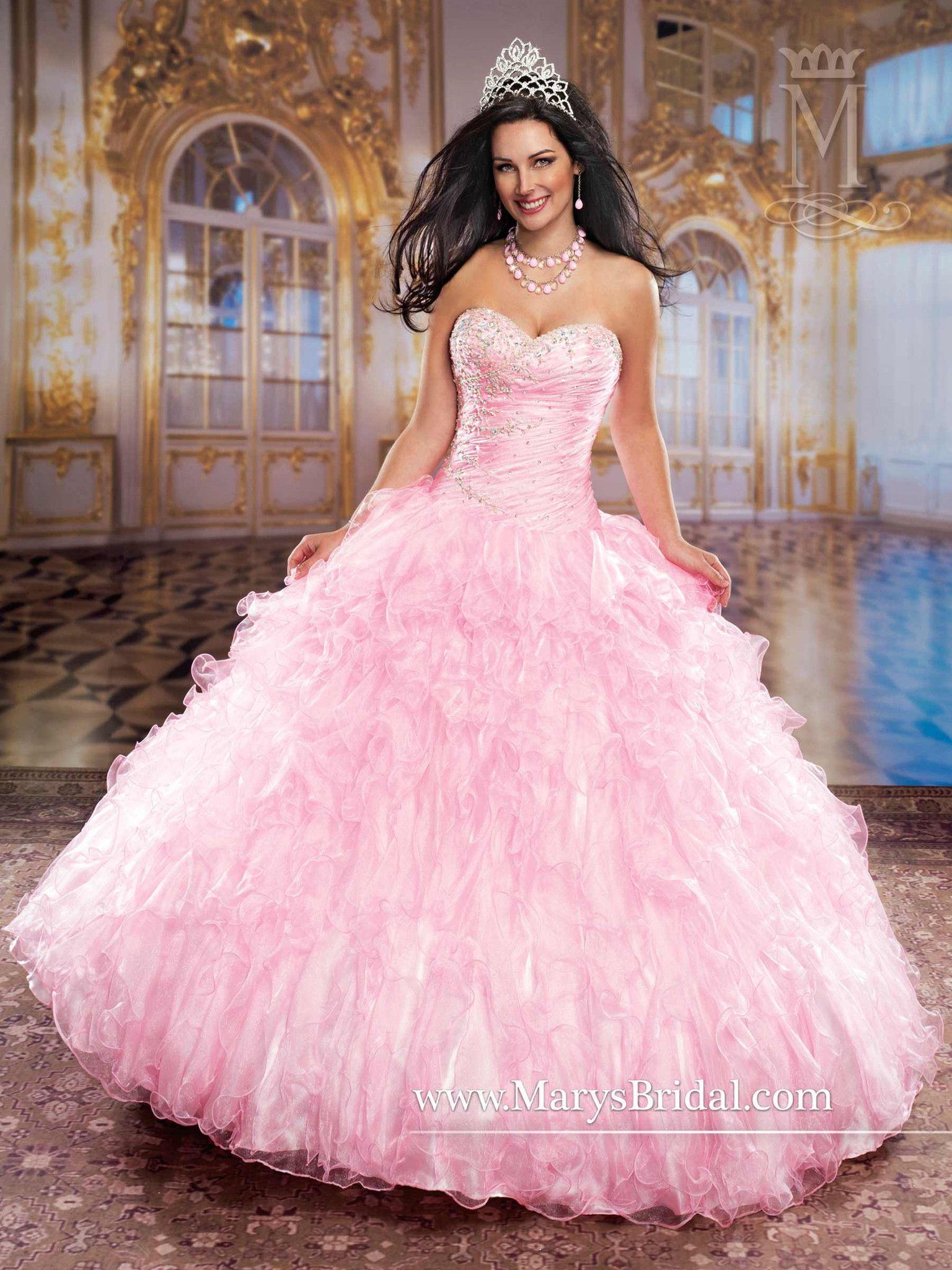 Mary\'s Bridal Princess Collection Quinceanera Dress Style 4Q769 ...