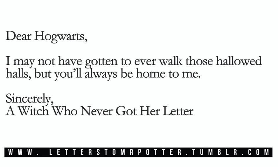 Dear Hogwarts