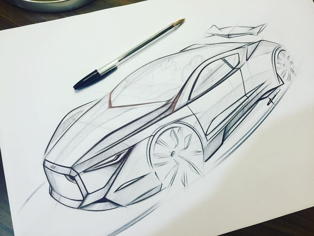 """#audi #supersport #concept #automotive #design #freehand #sketch #detail #art #biro #autodesign #transport #kamilmunirdesign #Quattro"""