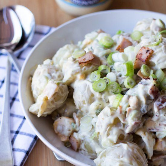 Potato Salad Recipe Spring Onion
