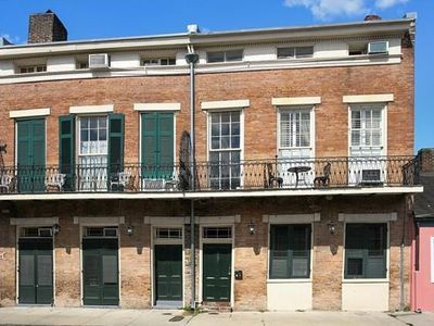 For sale: $180,000. Live in the heart of the French Quarter! Walk to nightlife, shopping, restaurants, live music, Louis Armstrong Park, new streetcar line. Adorable studio on third floor of historic Creole Townhouse with lots of character. Beautiful hardwood floors, kitchen with dishwasher, granite counters and stainless steel appliances. Coin-operated laundry right outside your front door. Skylights throughout create great natural light. Lush, central courtyard. Sold furnished. Also…