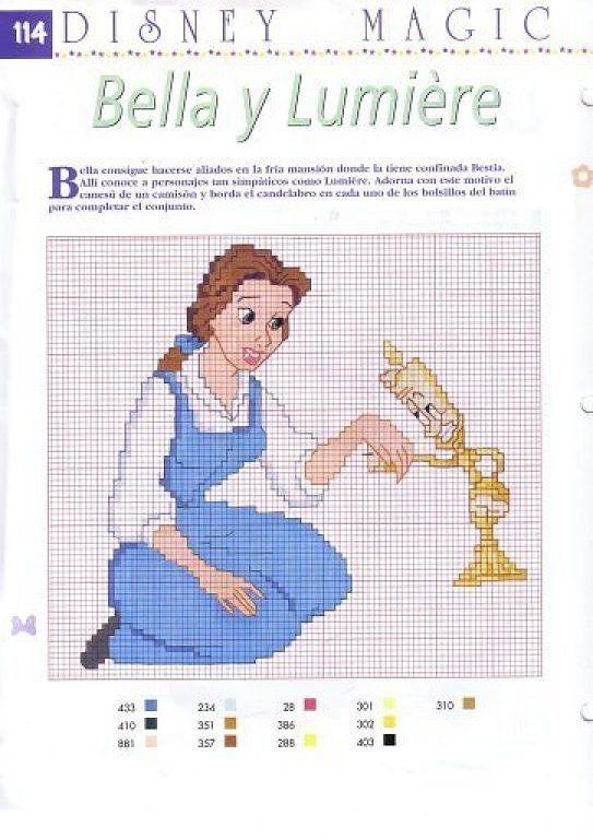 graficos infantiles punto de cruz | Cross stitch