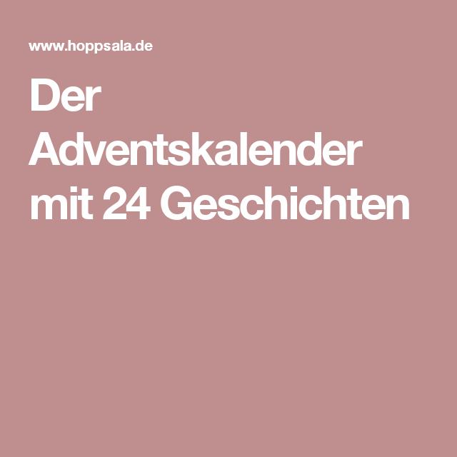 Pdf teile adventskalender 24 geschichte [pdf] Adventskalender