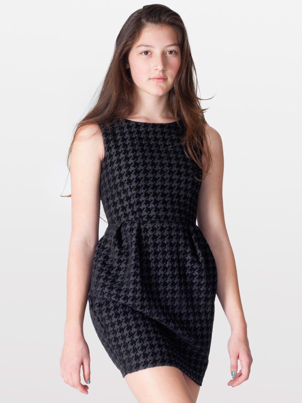 American Apparel - Houndstooth Cocktail Dress | Fashion & Design ...