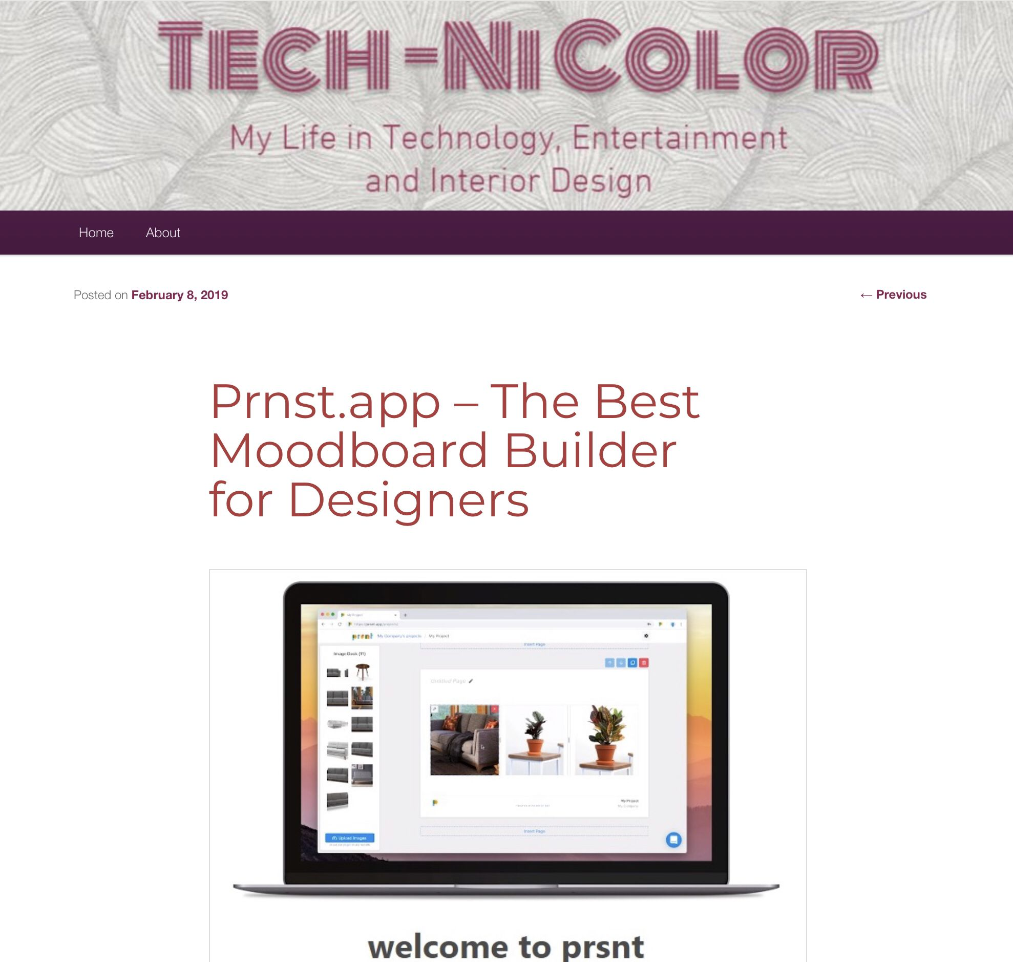 Prnstapp The Best Moodboard Builder For Designers Geek