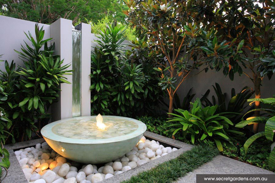 A multi level family friendly space randwick by secret for Simple water features for backyard