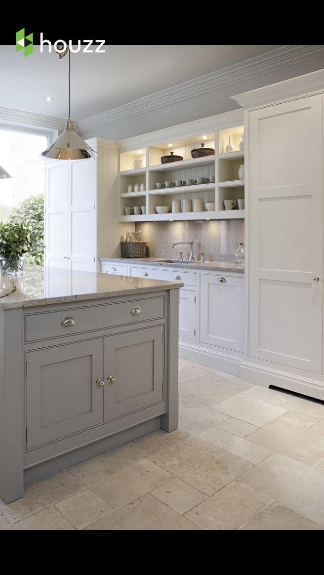 Resurfaced Cabinets Grey Kitchen Island Kitchen Design Contemporary Kitchen