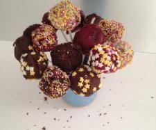 Recette Cake Pops par lilyminipouss - recette de la catégorie Desserts & Confiseries
