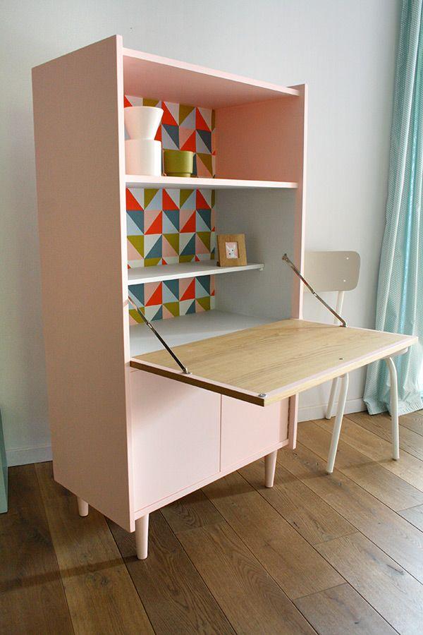 meubles secretaire vintage anatole 2 r nov s id es pour. Black Bedroom Furniture Sets. Home Design Ideas