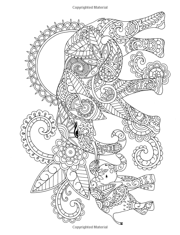 Amazon Exotic Animal Designs A Stress Relieving Adult Coloring Book 9781941325506