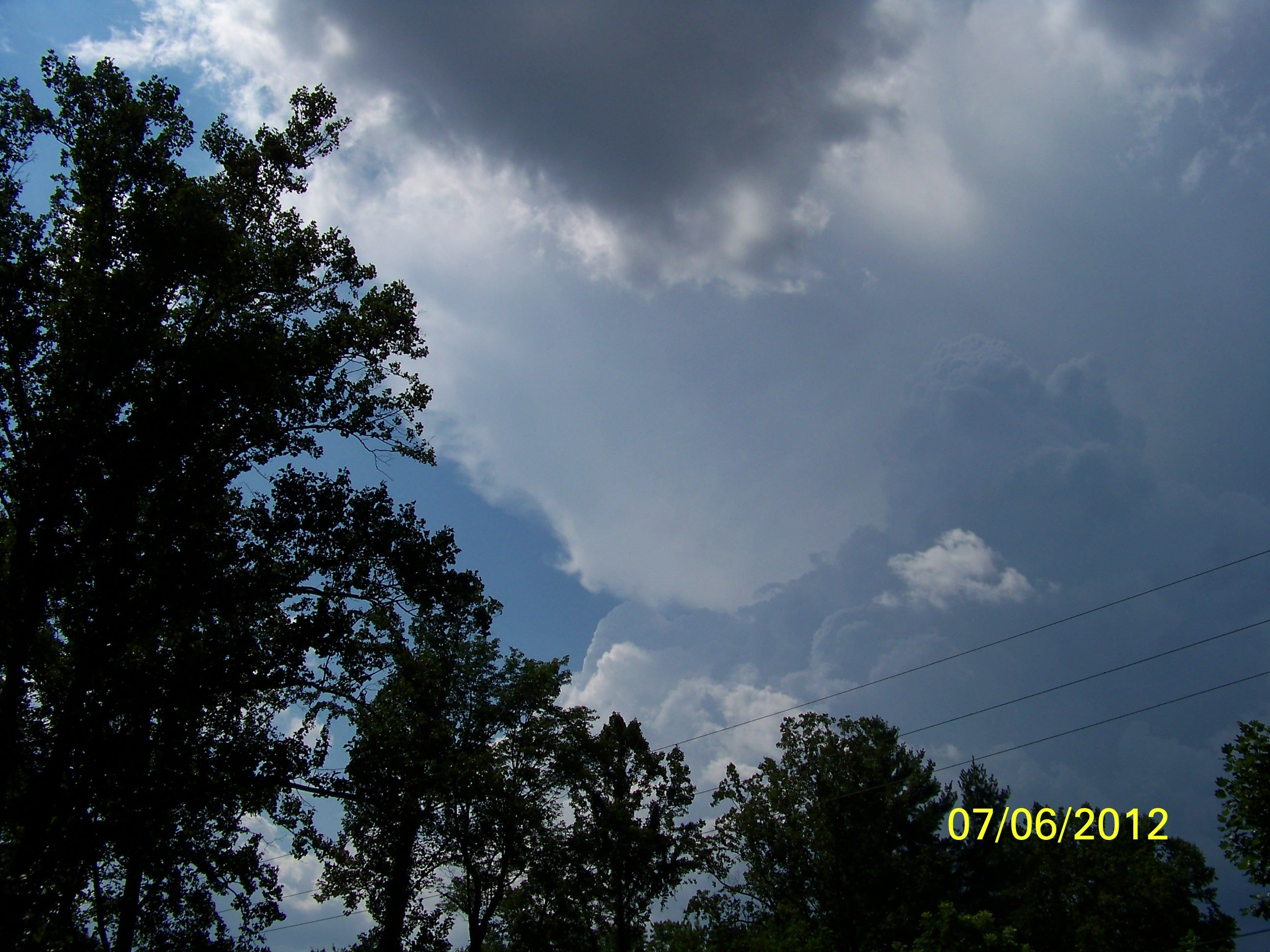 WEATHER Friday July 6th 2012 630 PM Mountain Home, North