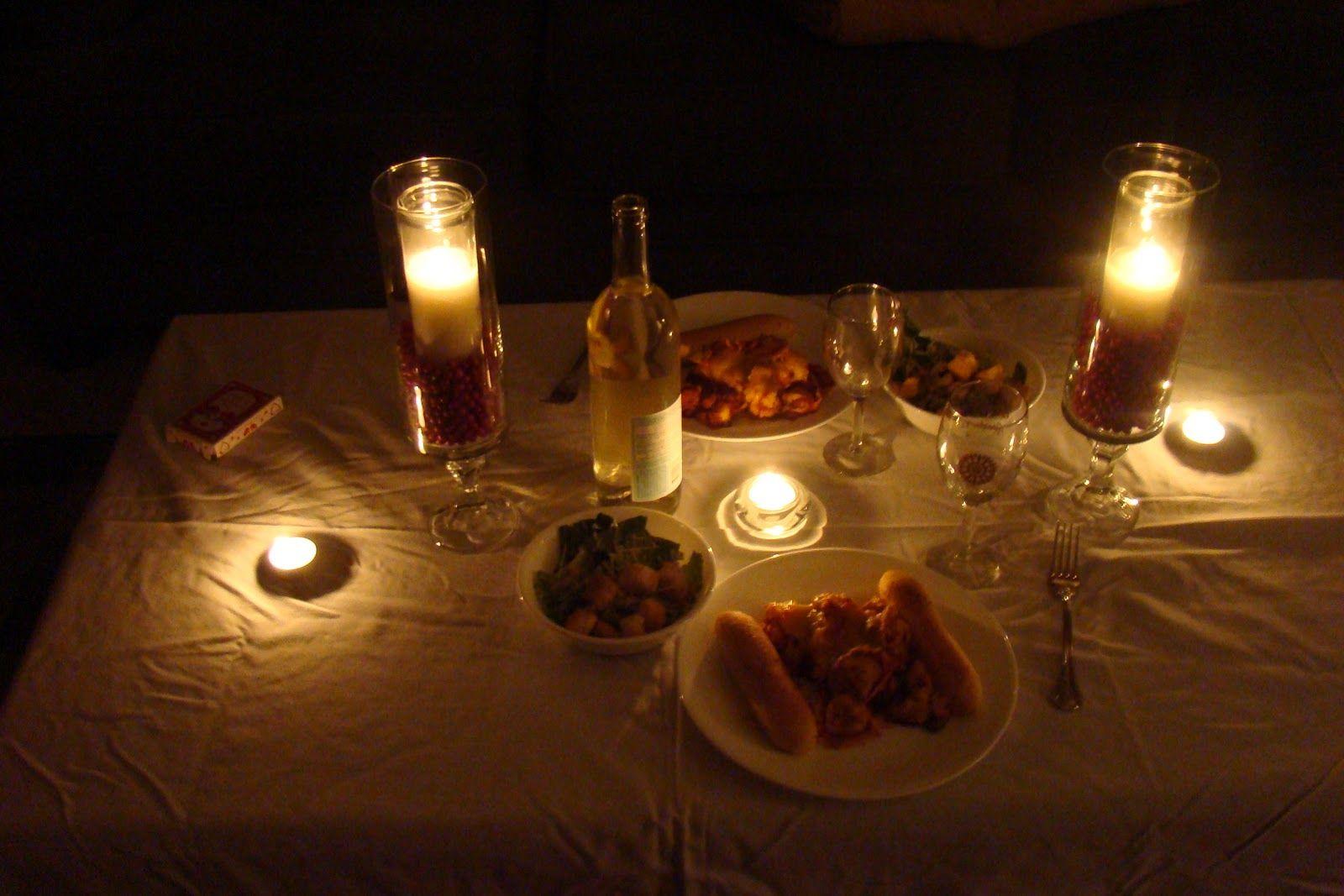 Mesa para cena rom ntica en casa san valent n - Ideas cenas romanticas ...