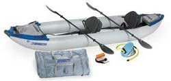 Sea Eagle 420X 14ft Kayak Pro Package Incl Seats Paddles and Pump