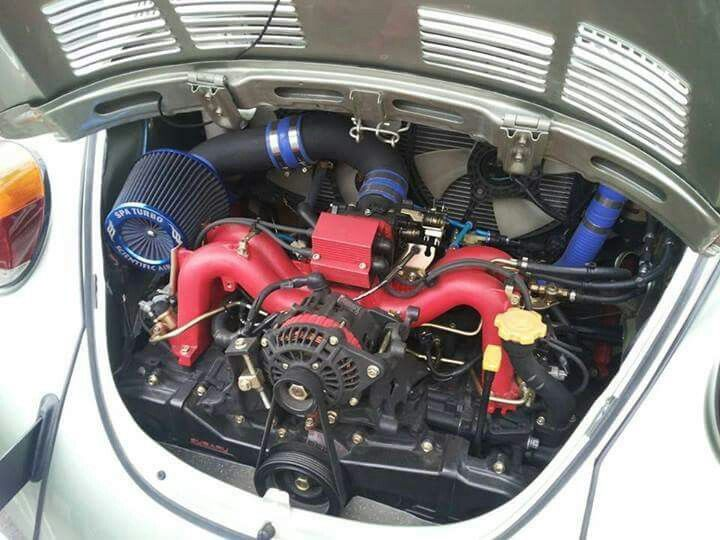 Vw Beetle Running A Subaru Turbo Engine