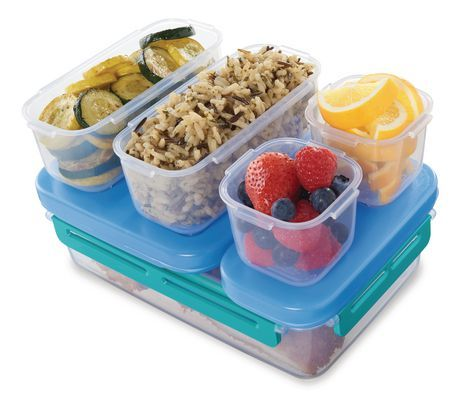 Rubbermaid Lunchblox Leak Proof Entr E Lunch Container Kit Large