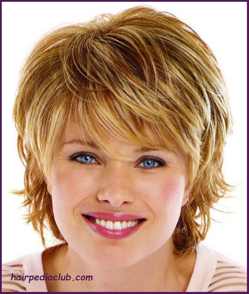 Short Haircuts For Round Faces Over 40 Best Short Hair Styles