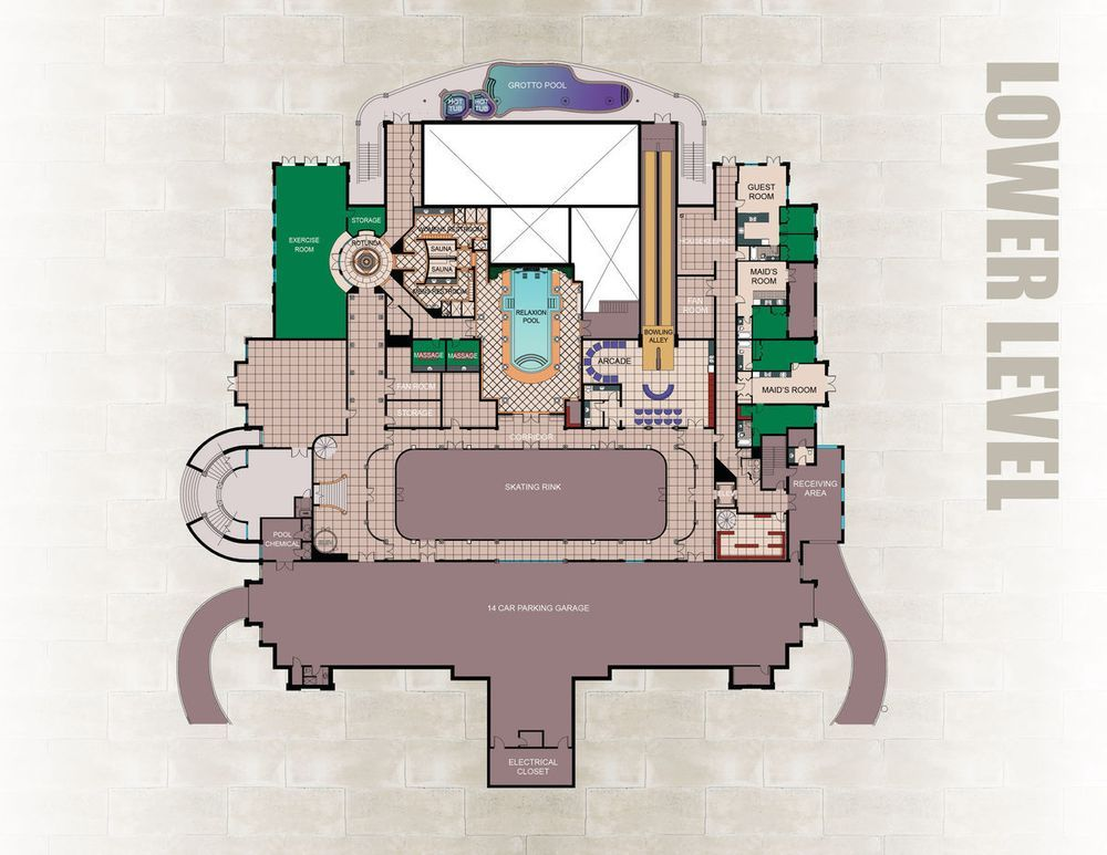 Are These The Floorplans To The Country S Largest House Floor Plans Luxury Floor Plans Versailles