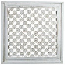 PTMD wandpaneel artcarf bloemen wit - Wandpanelen - Wanddecoratie