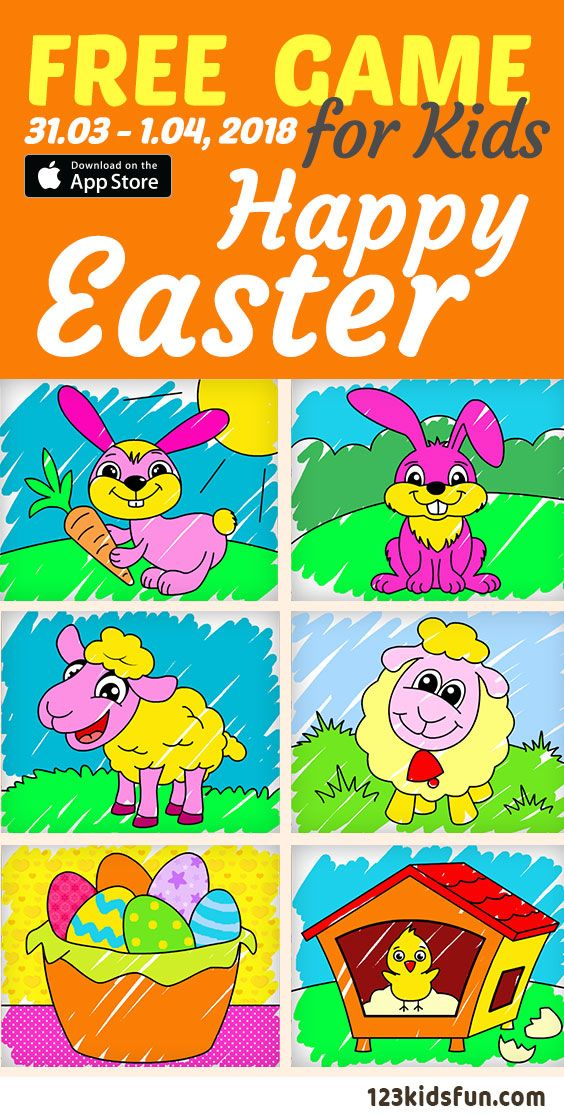 FREE iPad, iPhone Apps for kids 31.011.04, 018. Easter