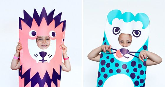 Paper Costumes by Omy Design & Play
