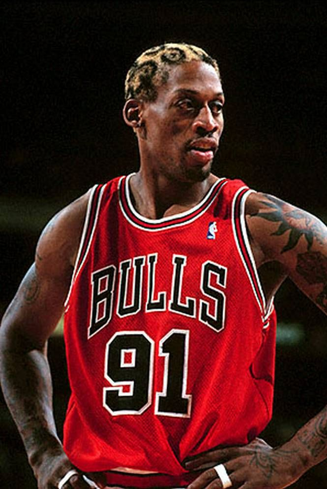 Chicago Bulls - Dennis Rodman   1995-1998 6e16c65b41c