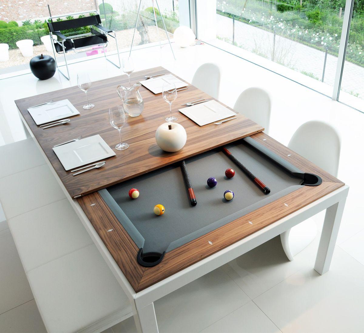 Fusiontables Fusion Table Dining Table Biliards Meja Bilyar Meja Makan Rumah Modern outdoor pool table