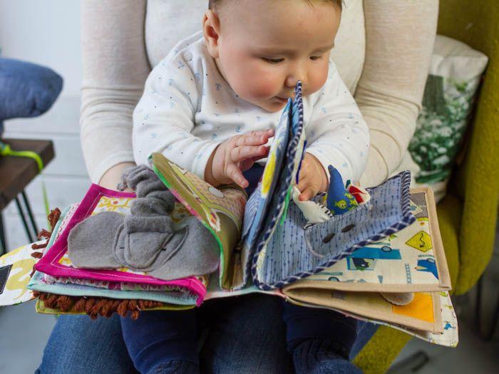 Tutoriel Diy Comment Coudre Un Livre Interactif Pour Bebe