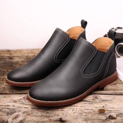 merkmak men shoes ankle boots men rubber rain boots