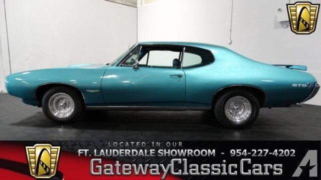 Pontiac GTO FTLR For Sale In Pompano Beach Florida - Pompano classic cars