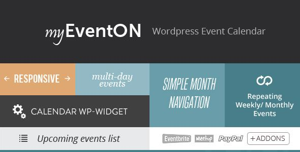 Eventon  Wordpress Event Plugin  Wordpress Plugins