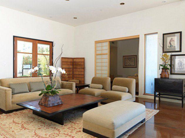 26 Sleek And Comfortable Asian Inspired Living Room Ideas Asian Living Rooms Asian Decor Living Room Japanese Living Rooms