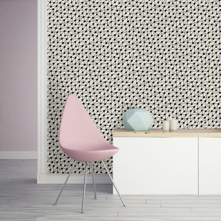 CONNECT wallpaper Removable wallpaper, Self adhesive