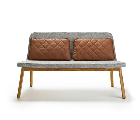 lean 2 seater waiting area benches from mobel copenhagen architonic