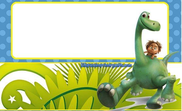 Un Gran Dinosaurio Etiquetas Invitaciones De Cumpleaños