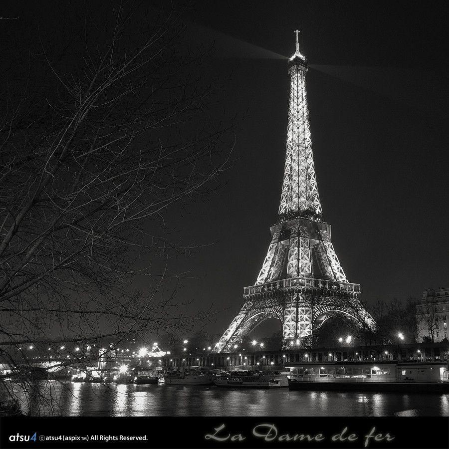La Dame de fer..... Paris
