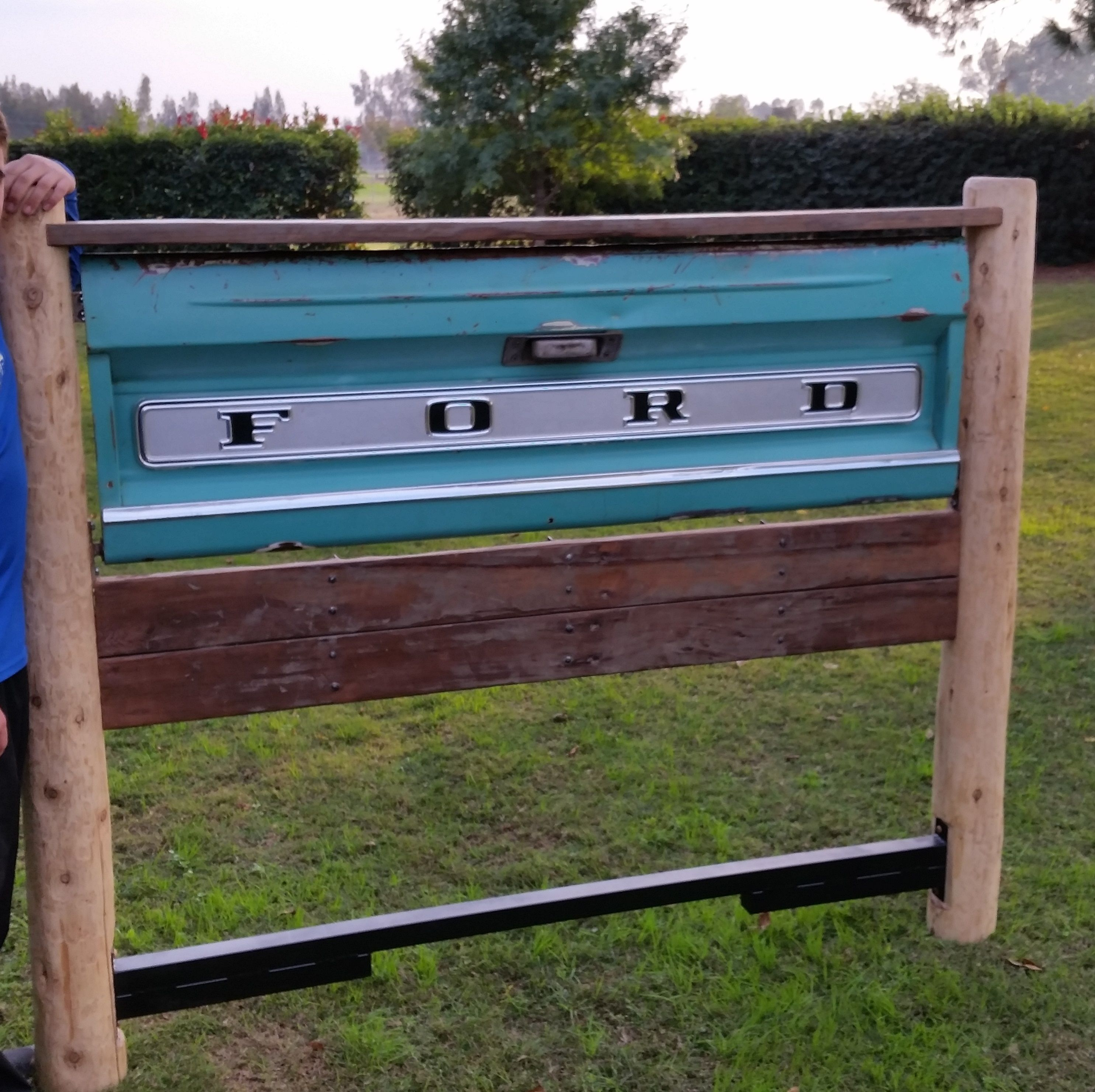 only tall of wood image wooden size yourself footboard solid farmhouse and beds diy for free full decor reclaimed it headboards plus bed blueprints projects home ana frame do king breathtaking from white headboard