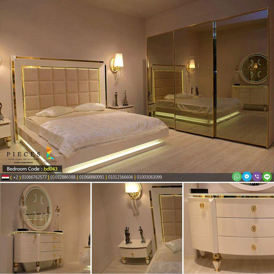 أحدث كتالوج غرف نوم مودرن كامله 2021 غرف نوم مصر Bedroom Bed Design Bedroom Furniture Design Turkish Furniture