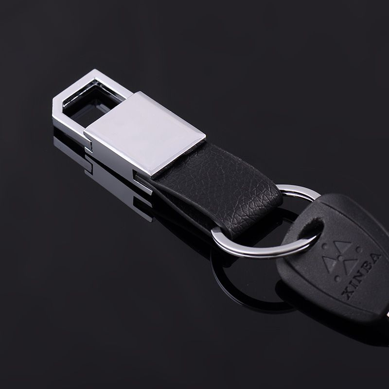 Car Keychain Men/'s Creative Key Holder Keyring Key Chain Genuine Leather Keyfob