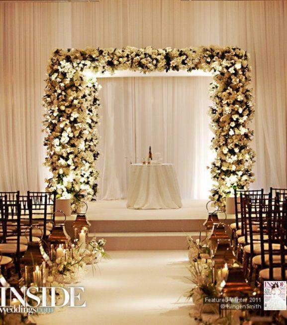 wedding+ceremony+decoration+ideas+pictures | indoor wedding ...