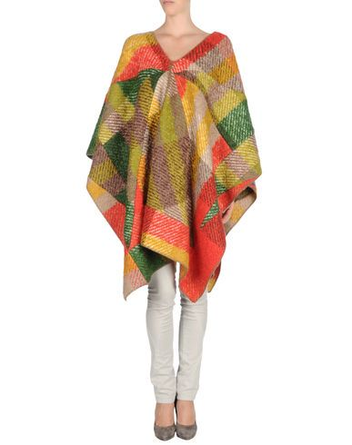 MISSONI  mohair and wool Cape