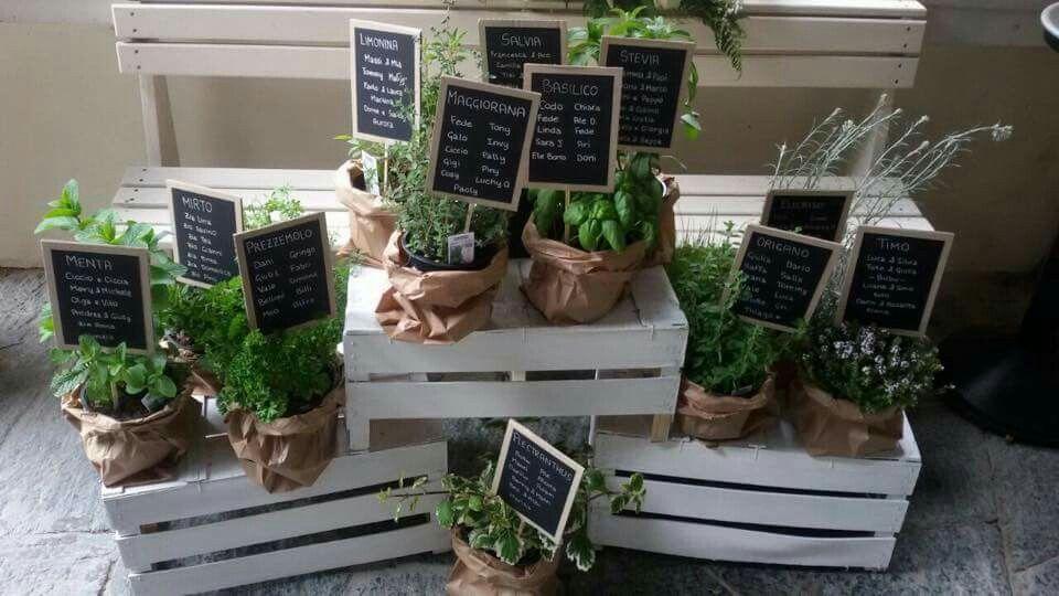 Tableau mariage con piante di spezie  c8758f37e0d