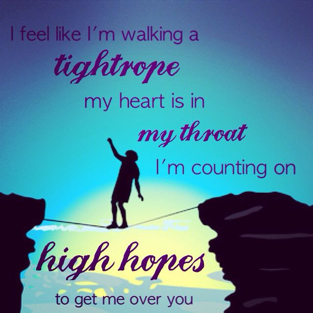 Man on a wire - The Script | Awesome Song Lyrics! | Pinterest